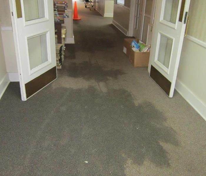 Library Pipe Burst