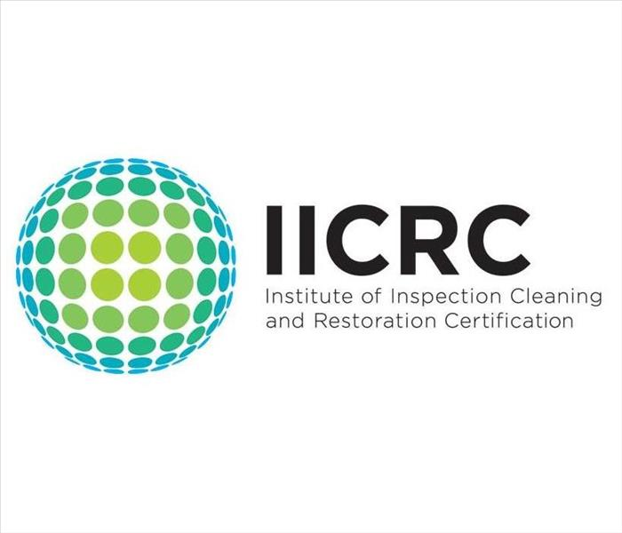 SERVPRO is IICRC-certified!