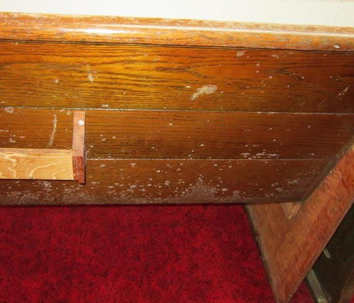 Flooded Church Experiencing Mold