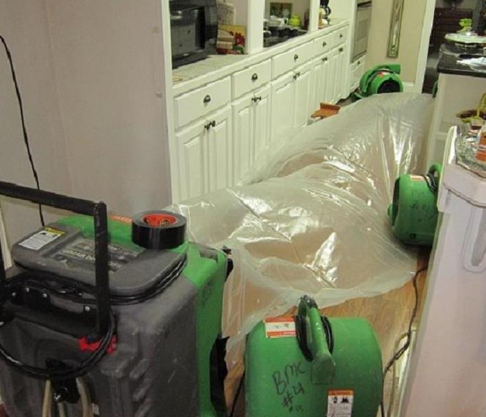 Water Damage Accident in the Kitchen